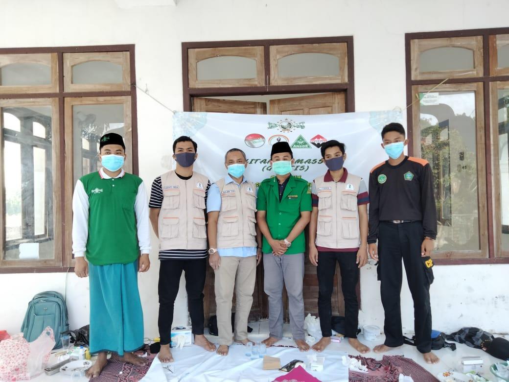 Baksos PR GP Ansor Larangan Tokol