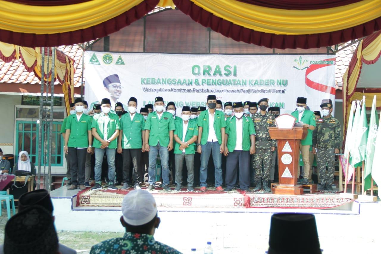 Kompak PAC. GP. Ansor, IPNU-IPPNU Tlanakan Gelar Pelantikan Bersama