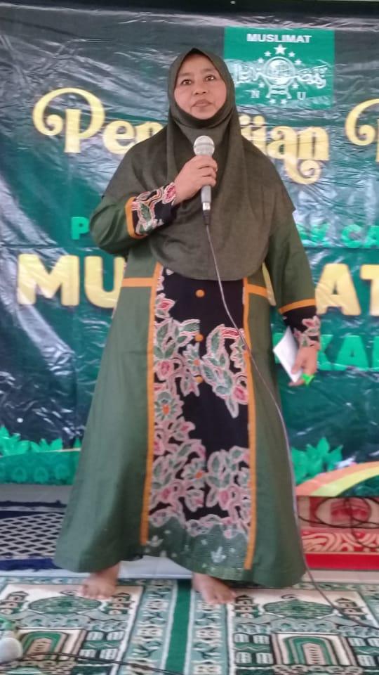 Nyai Aisyah Mughni Ajak Kaum Ibu-ibu Muslimat NU Tlanakan Tingkatkan Ibadah Sunnah