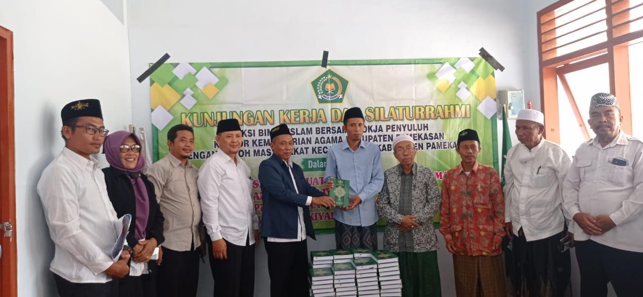 MWCNU Tlanakan Terima Kunjungan Kerja & Silaturrahmi Kemenag Pamekasan