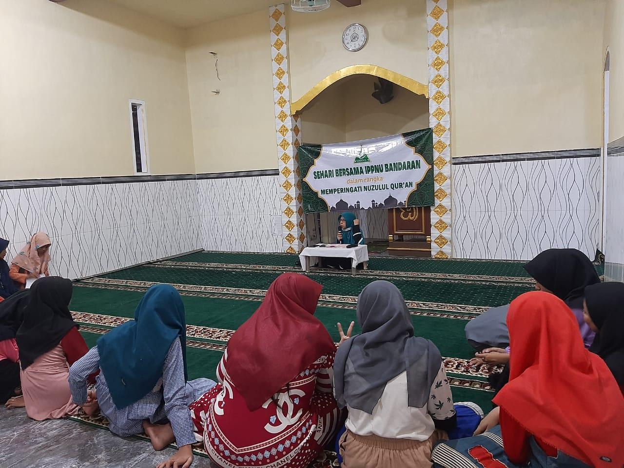 IPPNU Bandaran Peringati Nuzullul Qur'an Dengan Mengkaji Kandungan Suroh Al-Qadar