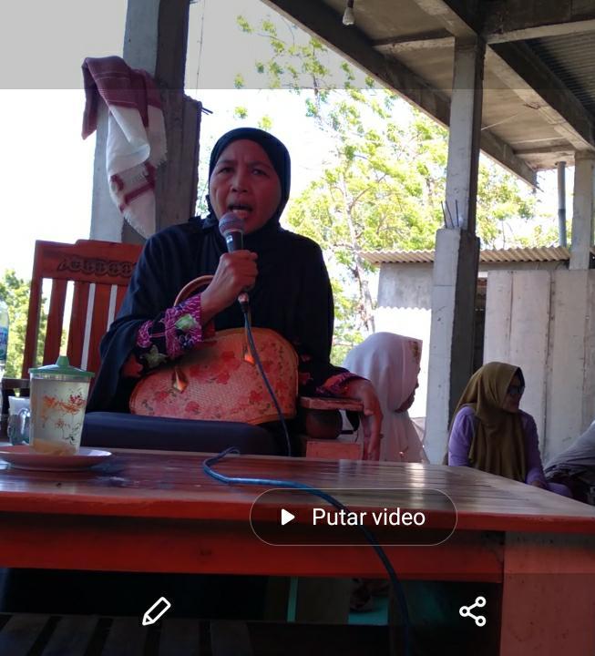 Kegiatan Rutin dan Halal Bihalal PAC Muslimat NU TLANAKAN