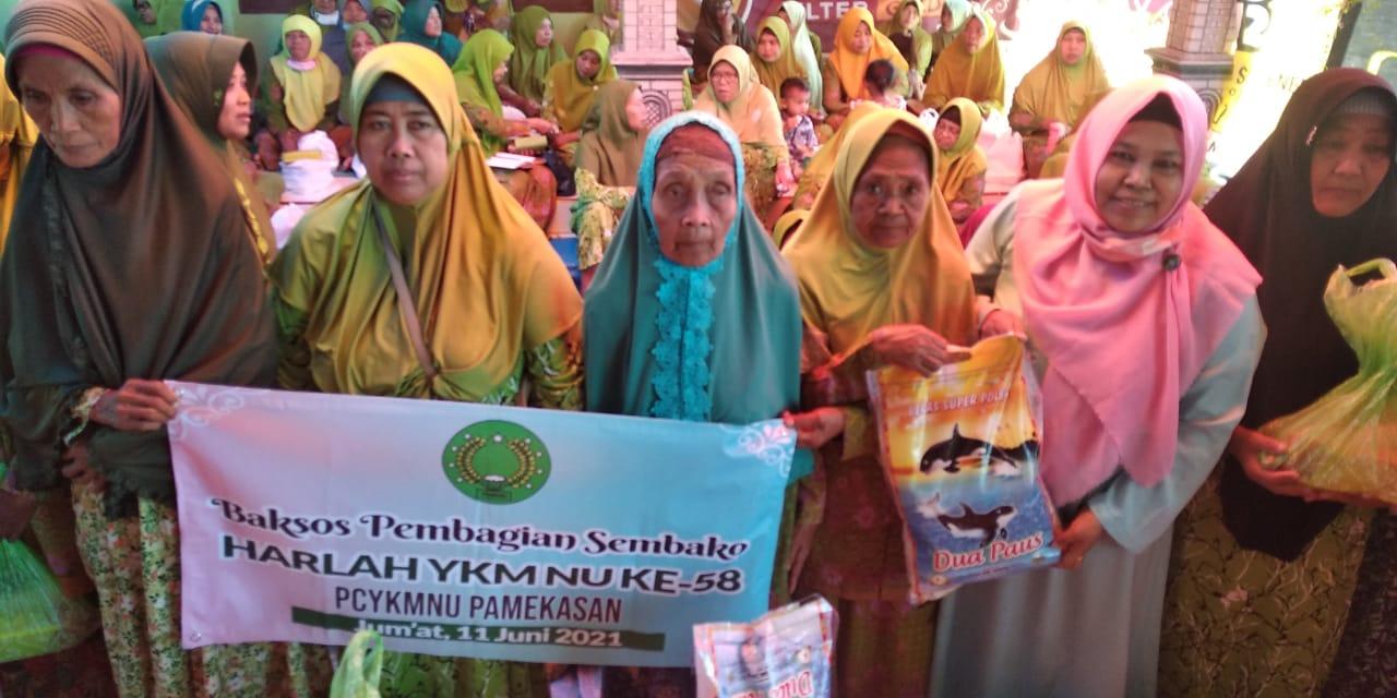 Muslimat NU TLanakan Santuni Kaum Dhuafa'